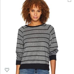 Nally and Millie Stripe Scoop Neck Top